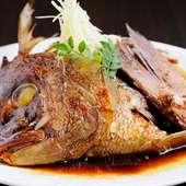 鯛の旨みがきっしり詰まった『鯛のあら煮』