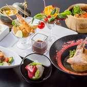 日本酒やカクテルに合わせて。『おつまみ宴会コース』