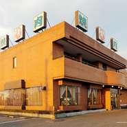 レンガ調の外観は昔ながらの韓国の焼き肉店のイメージです。日本にいながら韓国の雰囲気を味わえます。
