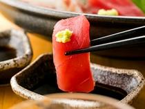 当店オススメは朝採れ鮮魚のお刺身!