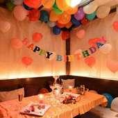 誕生日や記念日には、お店からのプレゼント特典があります