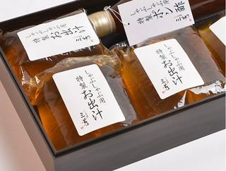 【セット内容】しゃぶしゃぶ用特製お出汁 1,440ml