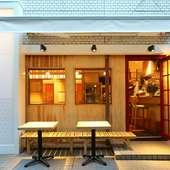 渋谷でデート。ディナーは、美味しい日本酒と牡蠣で幸せな時間を