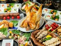 おすすめの『低温三種盛り』や『串焼き』等おもてなしにぴったりのお料理をご用意。