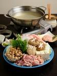 徳島でも珍しいスタイルの水炊鍋『神山鶏水炊』(1人前)