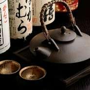 焼酎や日本酒は厳選したおすすめがそろいます