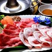 肉の味わいは焼肉だけにあらず、『しゃぶしゃぶ』も大人気