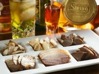 香り際立つオリジナルのお料理。日本酒をはじめ、焼酎にワインやウイスキーにも合います。