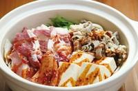 ※ご注文は2人前から  具材:お肉・焼竹輪・島豆腐