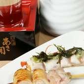 月ごとにメニューが変わる日本酒がおすすめです