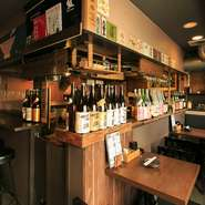 2011年にオープンして以来、地域の人たちに愛されているお店。「子ども連れも大歓迎」と店主。家族でも楽しめ、「歓送迎会」「女子会」と幅広いシーンで活躍です。