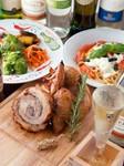 シェフ渾身のイタリアンで贅沢パーティーはいかがでしょうか!自慢の肉料理ももちろん!