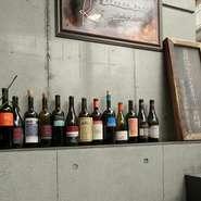 """オーガニックワインも豊富に取り揃えられています。ただ""""オーガニック""""をウリにしているのではなく、ブドウや味にこだわりを持つワイン職人のワインだから敢えて選んでいます。"""