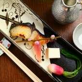 定番で人気がある『サワラの西京焼き』