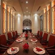 店はJR仙台駅に隣接する「ホテルメトロポリタン仙台」内にあり、アクセス抜群。豪華な完全個室などがあり、特別な食事会だけでなく、日常のランチタイムも優雅に楽しめるとご好評です。
