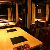 和モダン空間で楽しむデート、しっとりとした時間が流れます