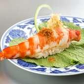 寿司と天ぷら