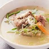 じっくり煮込んだスープは栄養満点、体に優しい『テールスープ』