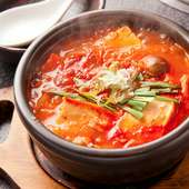 豆腐チゲ(豚肉・玉子入り) 2辛