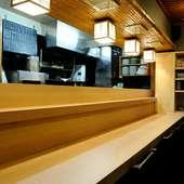 肩肘張らずにふらりと気軽に立ち寄れる和食店