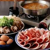 自家製味噌が美味しさの決め手『ボタン鍋』
