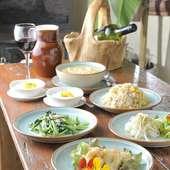 宴会や接待におススメのコース料理も充実