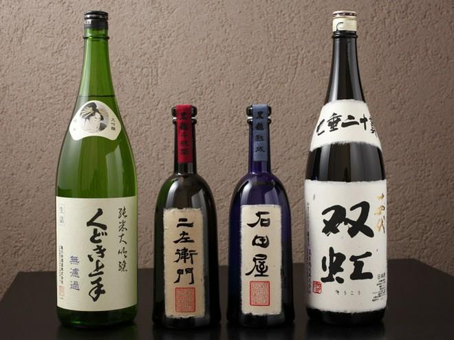 日本酒にこだわっている