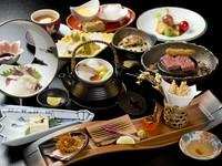 季節感が満喫できる前菜、ステーキ、デザート付の『和香御膳』