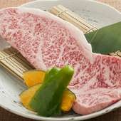 牛肉の王様 脂がのった『黒毛和牛サーロインステーキ』