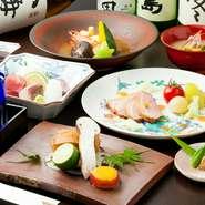 好きな食材、食べられない食材などをお知らせください。お客様のご要望を叶える懐石料理をご提供します