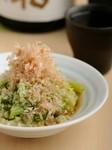 徳島県とコラボした野菜摂取アップ推進キャンペーンの一皿。実に100gのキャベツが摂取できます。