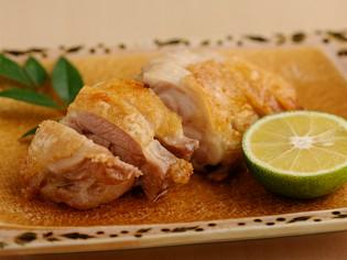 徳島の「地鶏」にこだわります『阿波尾鶏の天然塩焼き』