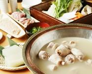 ぶつ切り / ミンチ / 切り身 / 肝 / 野菜 ※上記、全ての鍋具材を、予め盛り込んでのご提供となります。