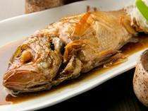 煮魚・焼き魚はオーダーが入ってから素早く仕上げます