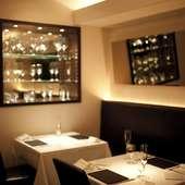 格調高き空気感。価値あるひとときが過ごせるフレンチレストラン