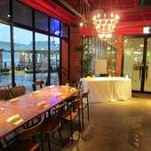 アクセスが良いウォーターフロントビルの1Fあるレストラン