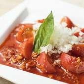 爽やかな酸味が効いたお口直し『トマトのキムチ』