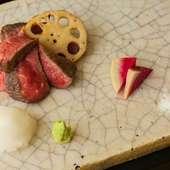 肉の旨みがダイレクトに伝わる『佐賀牛イチボの炭火焼き』