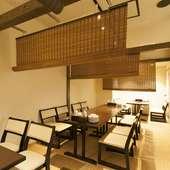 2階は貸切可能なフロア。周囲を気にせず楽しい宴会を開催可能