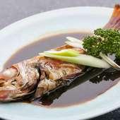 旬の地魚 煮物