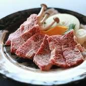 口の中に広がる味わいと肉質。肉の質感を存分に楽しめる『ハラミ』