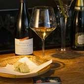 白ワインと天麩羅のマリアージュ