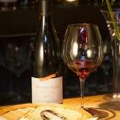 赤ワインと天婦羅のマリアージュ