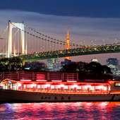 東京ベイエリアの夜景を一味違う角度から望めます