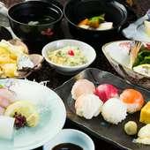 『四季のめぐみ弁当』 海山の恵みがいっぱい