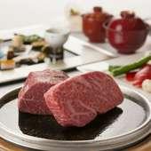 高級食材を使った贅沢な『壱岐牛会席』 ※メニュー詳細はコースページ参照
