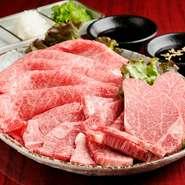 2~3人前 肉のプロが厳選した地場産ブランド「伊勢水沢牛」の盛合せをリーズナブルな価格で堪能できるセットです。 ※仕入れ状況により、内容は異なります。