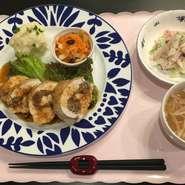 ※御飯・副菜・スープはローストビーフランチと同じです。