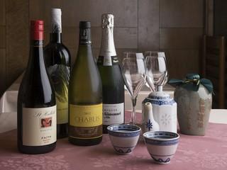 お食事に合わせてワインなどのリクエストにもご対応いたします