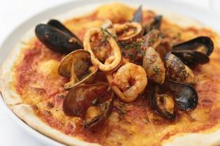 イタリア産の小麦粉を使った『フルッティ ディ マーレ』